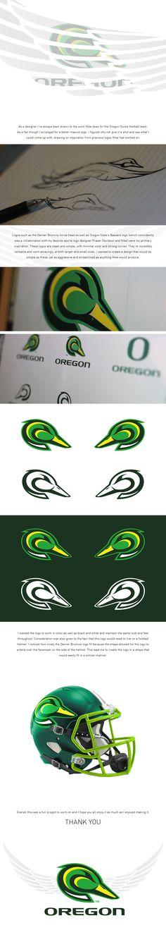 Oregon Ducks Logo Concept on Behance