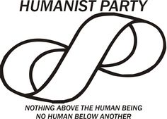 Humanist Party - slogan with symbol
