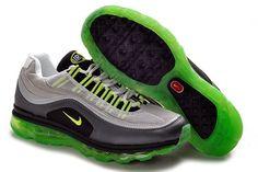 buy online 54079 8512b Danmark Billige Nike Air Max 24-7 Trainers Kvinder - GreyBlackGreen