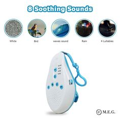 Baby Sleep Soothers Sound Machine White Noise Record Voice Sensor For Home Soothing Baby, Feeling Sleepy, Baby Health, Child Love, Baby Sleep, Childcare, How To Fall Asleep, 3 D, Sleep Sounds