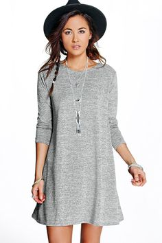 Jasmine Knitted Swing Dress