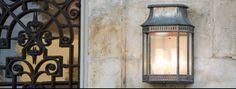 Französische Leuchte für den Außenbereich. Chalet - Leuchte. Material: Zink