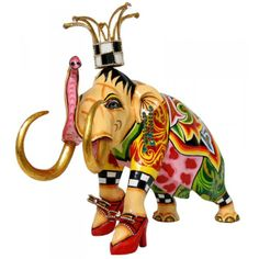 Toms Drag Elephant Figure Fred