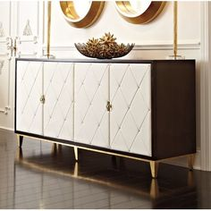 Looking for Jet Set Buffet Table By Bernhardt Mirrored Sideboard, Sideboard Buffet, Buffet Tables, Credenza, Hooker Furniture, Dining Furniture, Rustic Furniture, Furniture Decor, Bedroom Furniture