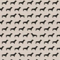 Dachshund Linen Cotton Canvas Fabric Cotton Canvas, Canvas Fabric, Dachshund, Style, Swag, Weenie Dogs, Weiner Dogs, Dachshunds, Burlap Fabric