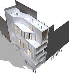 gravina social housing :zig zag architects