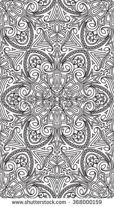 New Abstract Black and White Pattern
