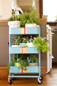 There are so many Ikea raskog trolley uses that you could use one in every room of your house. Check out these genius ideas for putting a Raskog cart to use Raskog Ikea, Ikea Raskog Trolley, Ikea Kitchen Cart, Ikea Cart, Mint Kitchen, Kitchen Trolley, Kitchen Storage, Kitchen Ideas, Ikea Hacks