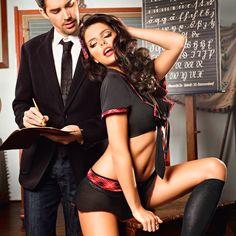 Disfraz La Mejor de la Clase Baci Lingerie en Pardal Sense Ales, tu sex shop en casa #comprardisfracessexys #disfrazdecolegiala #conjuntosexy