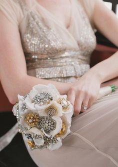 Elegant Fake Flower Bouquet