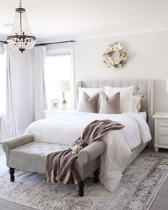 Bedroom setup - Cool Home Interior Design Ideas You Must Try Asap – Bedroom setup Bedroom Setup, Master Bedroom Design, Home Decor Bedroom, Modern Bedroom, Contemporary Bedroom, Bedroom Furniture, Bedroom Designs, Master Suite, Bedroom Rugs