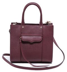 Dark Cherry Bag for Fall/Winter