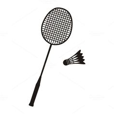 Badminton Racket and Shuttlecocks by robuart on Badminton Rules, Badminton Tournament, Badminton Bag, Badminton Sport, Gold Macbook Wallpaper, Clipart, Shuttle Badminton, Badminton Pictures, Cartoon Art Styles