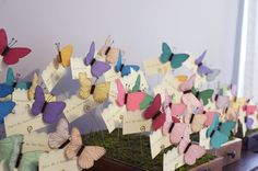 Butterfly Escort Cards 2