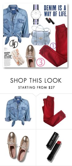 """""""Denim is a way of life"""" by edy321 ❤ liked on Polyvore featuring Soul Cal, Comptoir Des Cotonniers, Keds, Bobbi Brown Cosmetics, Ella Rabener and francoflorenzi"""