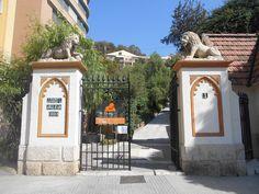 Entrada del Cementerio Inglés de Málaga