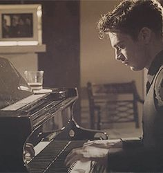 TJ Hammond Political Animals gif I could listen to him play piano all day