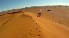 Erg Chegaga, walking among desert dunes | Maroc Désert Expérience | #morocco #sahara | http://www.marocdesertexperience.com
