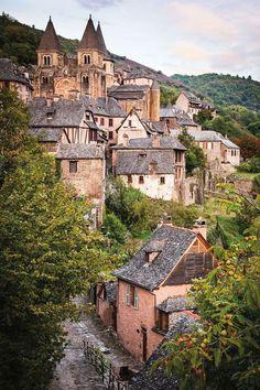 In Aveyron, France.