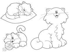 Animais Gatos imagem de impressão 98