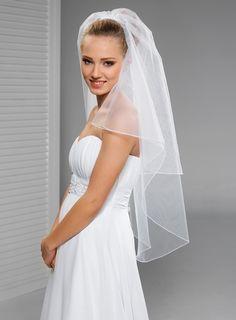 svatební závoj 100/65 cm
