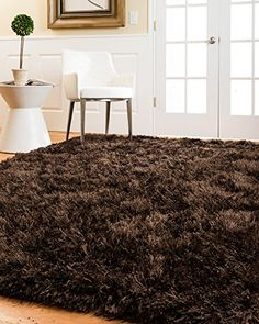 NaturalAreaRugs Reagan Shag Rug  Coffee Hand Tufted by Artisan Rug Makers Imported 5 x 8 >>> Want to know more, click on the image. (This is an affiliate link)
