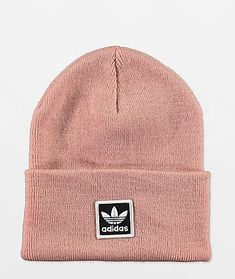adidas Beanies | Zumiez Messy Hair Look, Adidas Beanie, Adidas Originals, The Originals, Pink Beanies, Mini Backpack, Ear Warmers, Streetwear Brands, Headgear