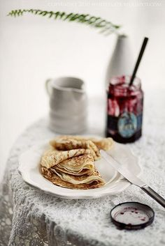 Crepes for breakfast x