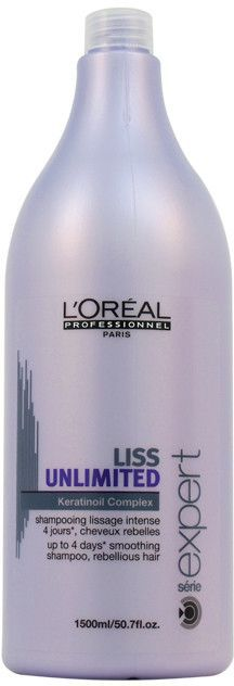 Unisex L'Oreal Professional Liss Unlimited Keratinoil Complex Shampoo