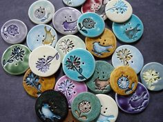 love these homemade buttons