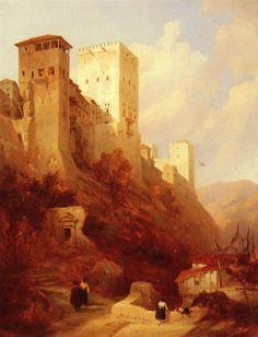 David Roberts Paintings, Art, David Roberts Alhambra.jpg