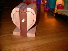 Dean Morrell made a bandsaw box for each of his children on their 5th birthday.