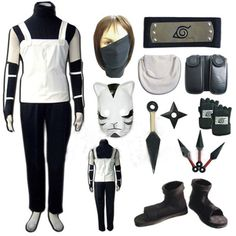 Relaxcos Naruto Kakasi Mask Shoes Sets Halloween Size L * Find out more about the great product at the image link.