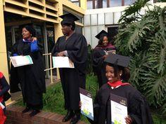 Graduation Day at GetOn Skills Development Centre. Empowering people!