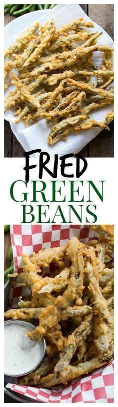 Crispy Fried Green Beans just like you order at a restaurant.