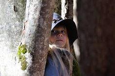 Bilderesultat for girl with hat in forest