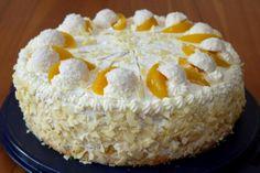 Experimente aus meiner Küche: Pfirsich-Raffaello-Torte