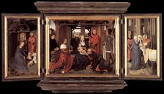 Triptych with the Adoration of the Magi, so-called Columba Altarpiece, Munich, Alte Pinakothek