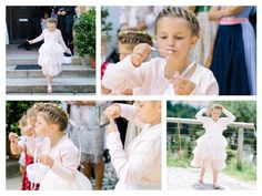 Blumenmädchen, Seifenblasen Hochzeit in Bad Tölz - die kirchliche Trauung -Allerliebeanfang › allerliebeanfang