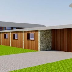 © O2i Design Limited 3D Model for national children's charity HQ
