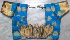 Blouse back design                                                                                                                                                                                 More