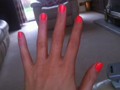 Models Own Ice Neon Nail Polish in Pink Punch