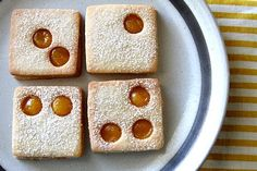 Linzer Cookies with Lemon Curd Filling | A Cup of Sugar...A Pinch of Salt