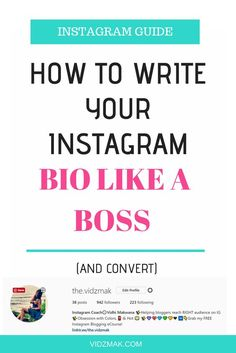 Improve your Instagram bio and gain 3 times more followers on Instagram. Learn how to put your Instagram bio.