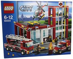 Lego City 60004 - Feuerwehr-Hauptquartier » LegoShop24.de