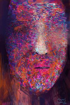 iPhone painting 241 by Magnus Sjöberg (Blank), via Flickr