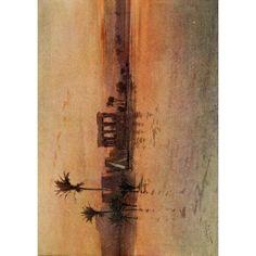 Egypt 1910 Philae present day Canvas Art - Augustus Osborne Lamplough (18 x 24)