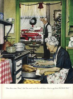 Plymouth ad by Norman Rockwell (Dec 1947)