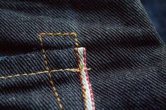 Red Seal selvedge denim Handcrafted by Replay