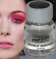 Makeup remover lotion theatrical beauty cosmetic face cleanser clown travel size. Compare at $7.99 with FREE standard U.S. shipping. Trusted in Theatrical Dressing Rooms and on Movie Sets for decades to remove Makeup after long Performances. Not only does it thoroughly remove Makeup, but it is a skin treatment at the same time, cleaning skin pores and allowing them to breathe and rehydrate.